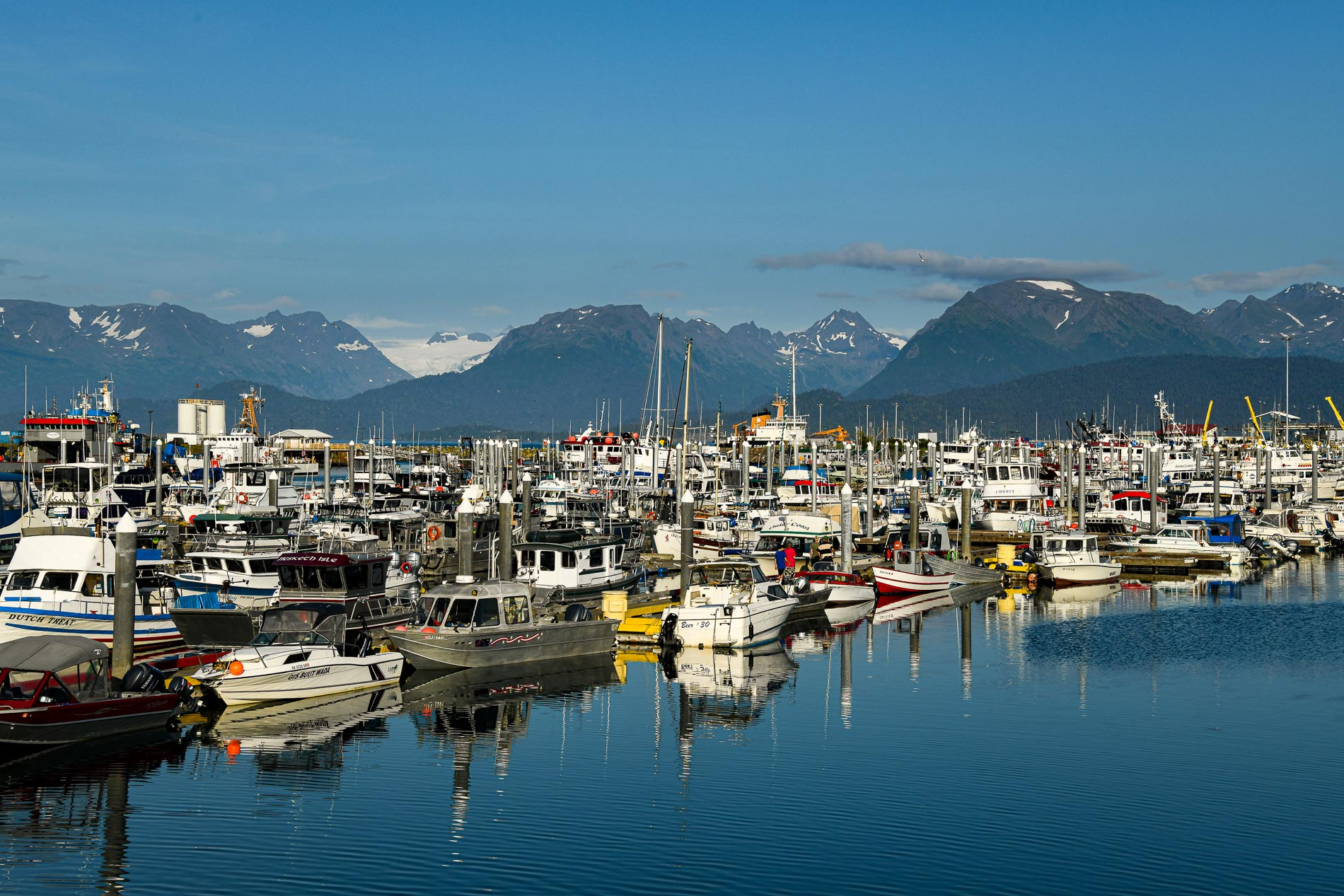 Small boat Harbor Alaska